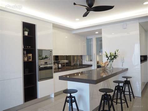 Home Design Ideas Malaysia by Minimalistic Modern Kitchen Condominium Design Ideas