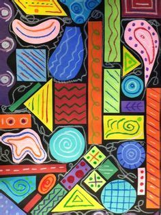 Abstract Painting Using Shapes by 109 Best Shape Lesson Images Lessons Shape