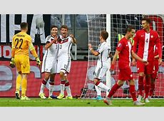 Germany defeat Poland to go top in qualifying Group D