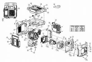 Homelite Hg1800 Series Electric Generator Parts And