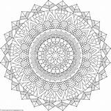 Coloring Mandala Pentacle Tribal Mandalas Getcoloringpages Cross Sheets Pentagram Adult Printable Template Malen Templates Teenagers Wiccan Gemerkt sketch template