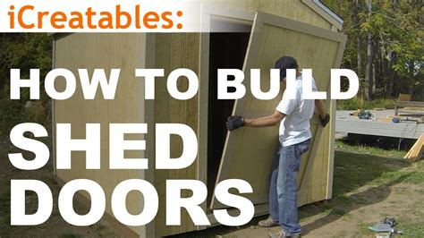 barn wood wall how to build a shed part 10 shed door building