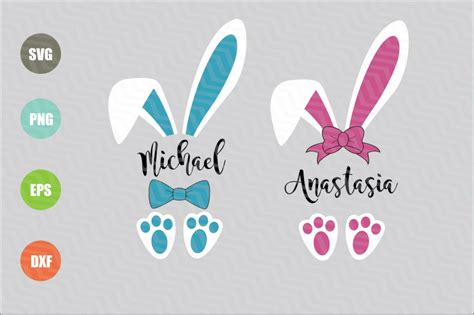 easter bunny ears svg  newsvgart thehungryjpegcom