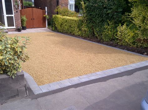 gravel paving sale fencing and surfacing driveways manchester driveways