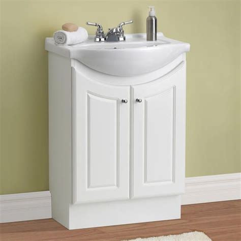 Bathroom Sink Tops Menards by 99 24 Quot Eurostone Collection Vanity Base At Menards