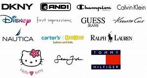 9 Best Images of Brands Names Clothes Logos - Name Brand ...