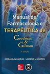 goodman  gilmans manual  pharmacology