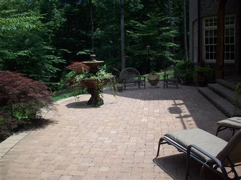 hardscape materials for patios raleigh hardscape and paver patio