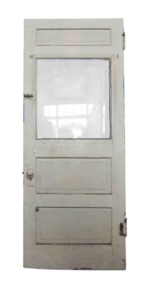 wooden door with glass panel single wooden door with glass panel olde things 1958