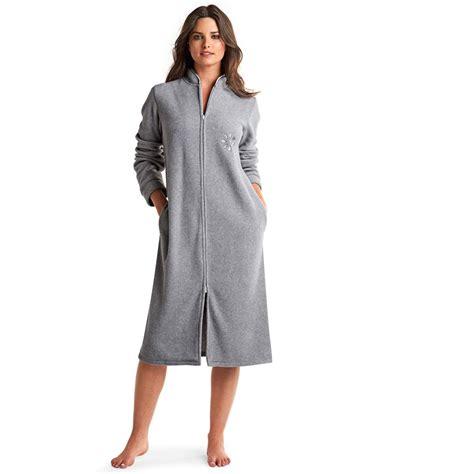 robe de chambre femme en polaire robe de chambre femme avec fermeture eclair galerie avec