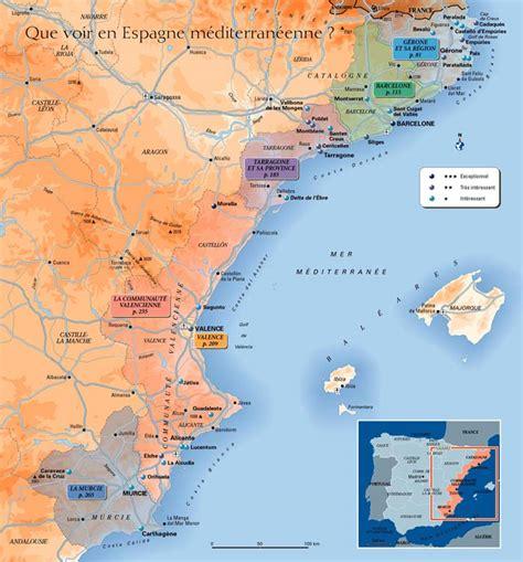 chambres d hotes ibiza infos sur cote espagnole mediterranee carte arts et