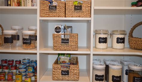 The Perfect Organized Pantry
