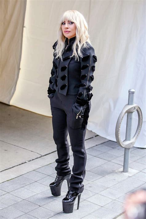 the black fedora gaga 39 s best style instyle