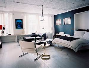 painting one wall darker photos design ideas remodel With modern murphy bed decoration for an apartment