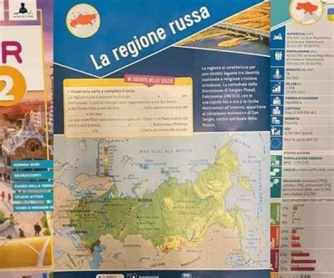 FOTO: Itālijā ģeogrāfijas grāmatā rāda, ka Latvija ir daļa ...