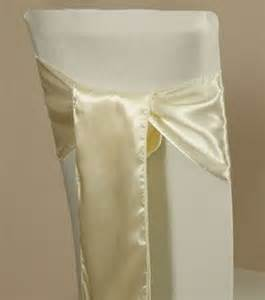 pack of 100 satin chair cover sash bows sashes wedding