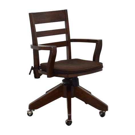 Office Chairs Pottery Barn by 66 Pottery Barn Pottery Barn Wooden Swivel Desk