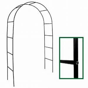 Arche Metal Pour Plante Grimpante : arche de jardin m tal ciel et terre ~ Premium-room.com Idées de Décoration