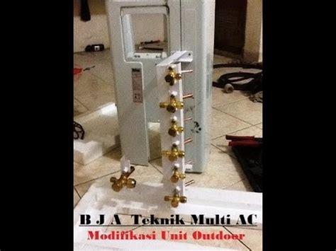 Cara Modifikasi Ac 1 Outdoor 2 Indoor by Ac Multi Split 1pk 3 Indoor Apartemen Green Pramuka