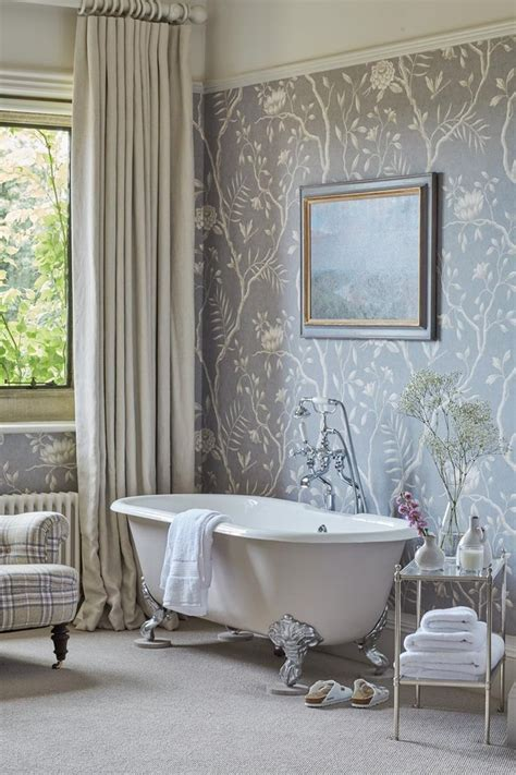Wallpaper Ideas For Bathroom by New Forest Manor House Interior Design Sims Hilditch