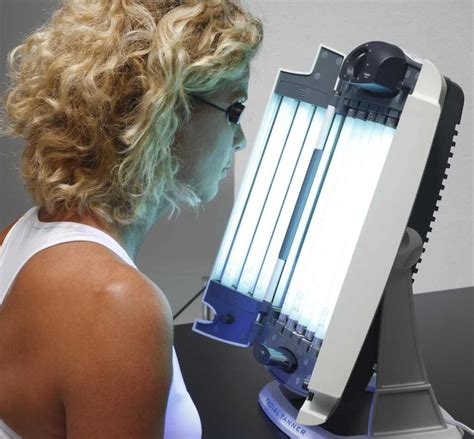 Best indoor Face tanner : 12 Tubes UV facial Tanning Lamp
