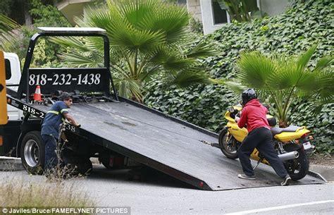 Joaquin Phoenix's k Ducati Motorcycle Breaks Down In