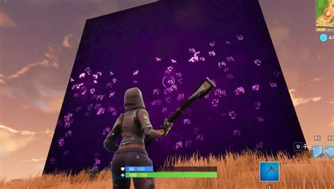 mysterious cube  fortnite moves  hour