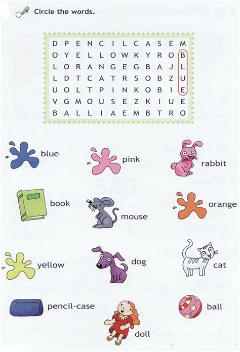 images  nouns word search puzzles printable