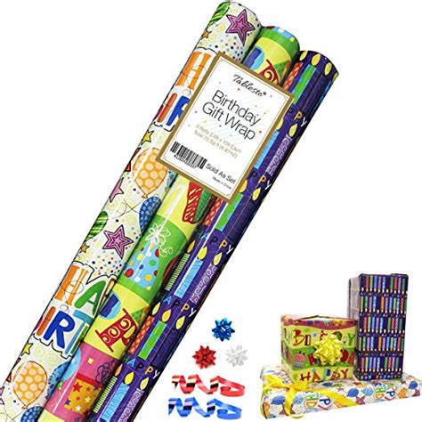 Birthday Gift Wrap  Gift Wrapping Paper  Premium Gift