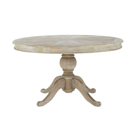 table 224 manger ronde en pin d140 neuilly maisons du monde