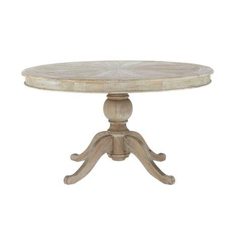 table a manger ronde table 224 manger ronde en pin d140 neuilly maisons du monde