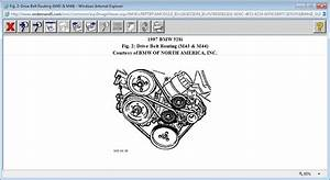 I Need The Belt Routing Diagram For A 1997 528i With A