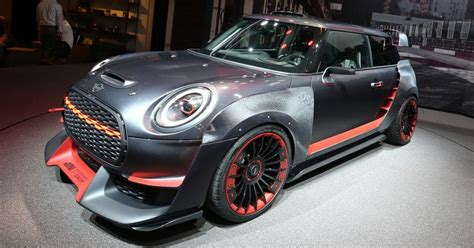 Are Mini Coopers Fast by Mini Gets Fast And Furious With New Jcw Gp Concept