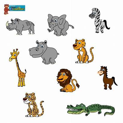 Wild Animals Animal Clipart Clip Wildlife Cartoon
