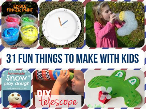things to cook 31 fun crafts to make with kids