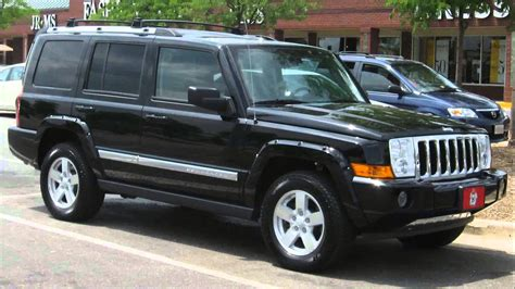 commander jeep 2007 jeep commander sport youtube