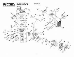 Ridgid Parts Ol50145mwd Compressor Pump