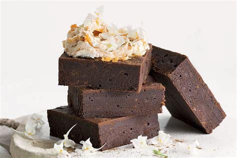 Sweet potato and dark chocolate brownies - Recipes ...