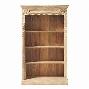 meuble bibliotheque gandhi maisons du monde With bibliotheque meuble maison du monde