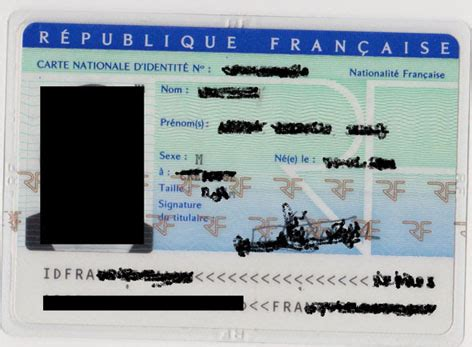 template id card france template photoshop