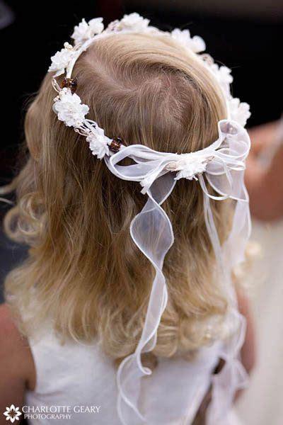 flower girl hair ideas kids tiny  home flower girl