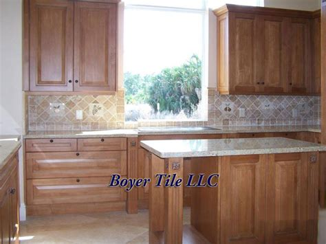 installing ceramic tile backsplash in kitchen ceramic tile kitchen backsplash boyer tile