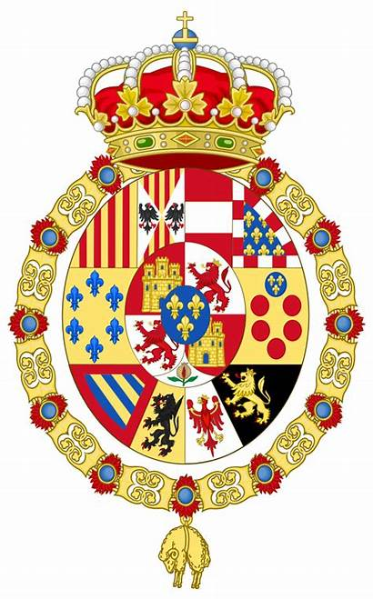 Arms Coat Royal Spain Greater Svg 1931