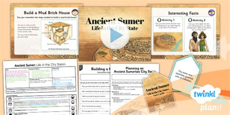 History Ancient Sumer Life In The City States Uks2 Lesson Pack
