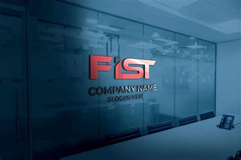 initial fist logo design  ai  graphicsfamily