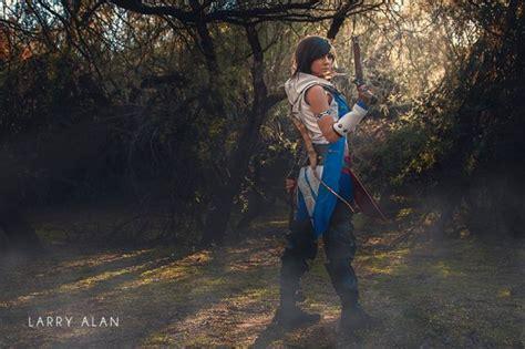 sexy assassins creed cosplay photoshoot  pics izismilecom