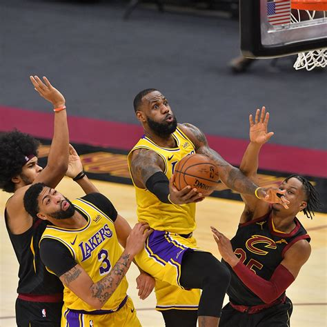 Photos: Lakers at Cavaliers (1/25/21) | Los Angeles Lakers