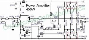 Power amplifier 450W with sanken mach mapli Pinterest