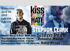 CANCELED Stephon Clark Silent Pray March Rally Indybay