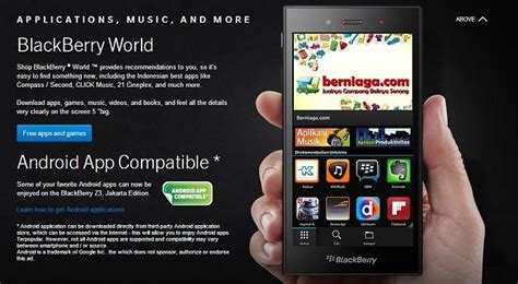blackberry advertises android apps for z3 blackberry forums at crackberry